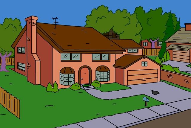 Existe una réplica real de la casa de Los Simpson pero ¿desearías tenerla?