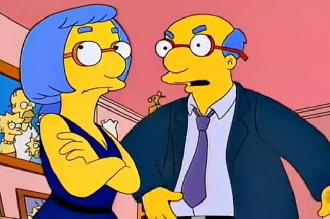 ¿Por qué los padres de Milhouse se parecen mucho?