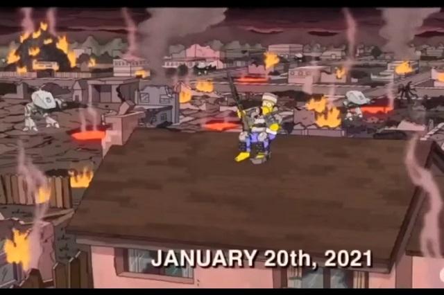 Los Simpson lo hicieron otra vez: presagiaron disturbios en EU