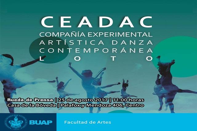 Crea BUAP Compañía experimental de danza contemporánea CEDAC-LOTO