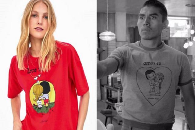La camiseta de Fermín de Roma llega a Zara