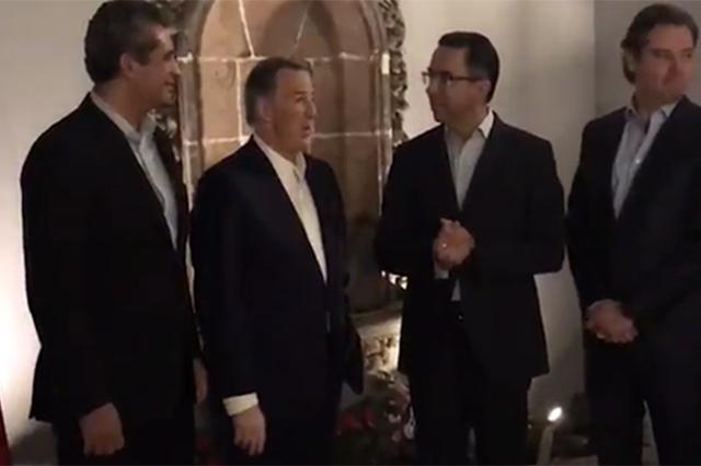 Reaparece Javier Lozano como vocero de la campaña de Meade