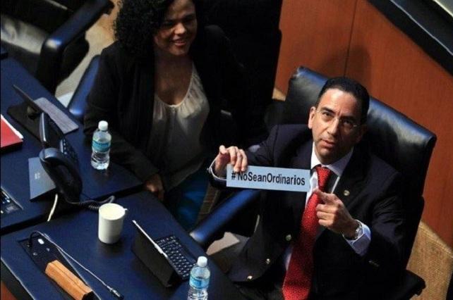 No sean ordinarios: Se burlan con memes a Javier Lozano en Twitter