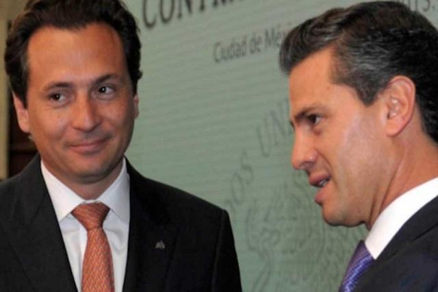 De EPN  y Videgaray, esquema de corrupción en el gobierno: Lozoya