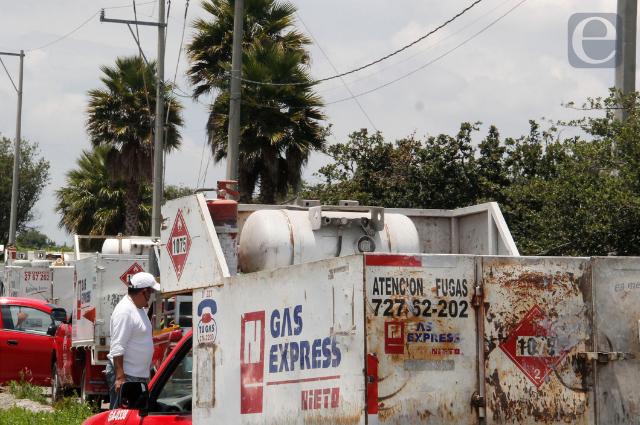 Baja $4 cilindro de gas en Puebla al iniciar septiembre