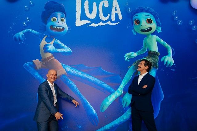 Fotos: realizan premiere mundial de Luca en EU y evento en Italia