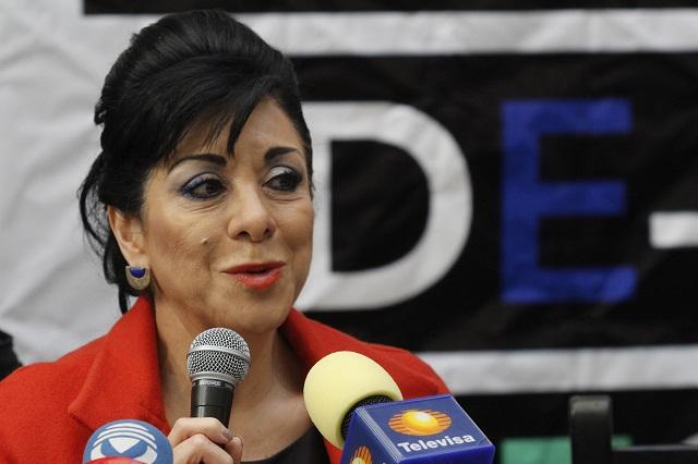Lucero Saldaña quiere ser gobernadora, confiesa bienes por 8 mdp