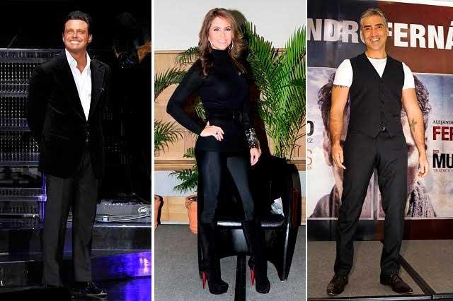 Lucero quiere con Luis Miguel y con Alejandro Fernández