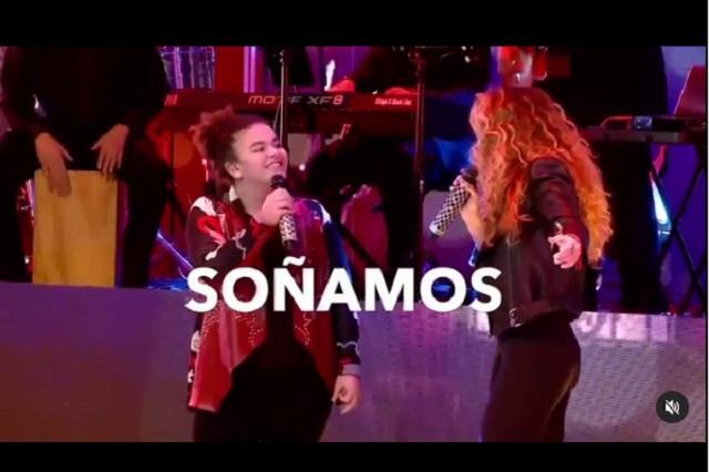 Lucero Mijares hace parodia de su famosa madre
