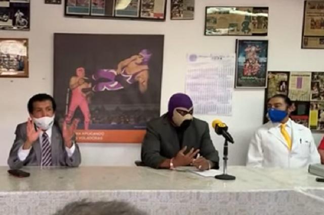 Comisión de Lucha Libre busca reabrir arenas con 30 por ciento de aforo