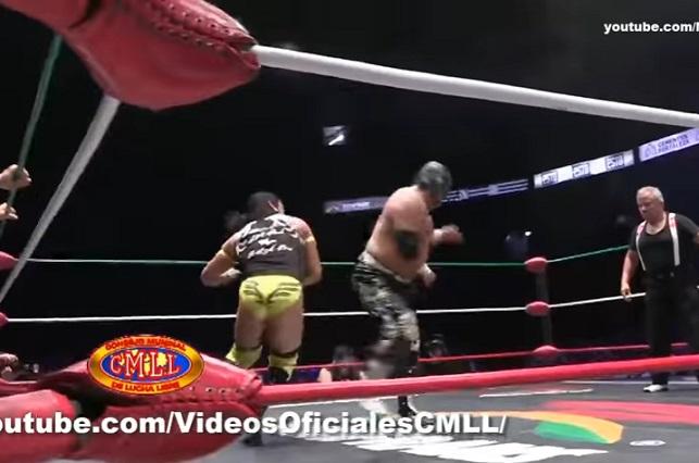 ¿Si Mr. Niebla subió ebrio al ring puso en peligro su vida?