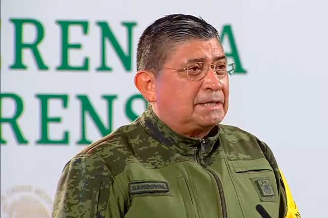 Sedena reitera su respaldo al gobierno de López Obrador