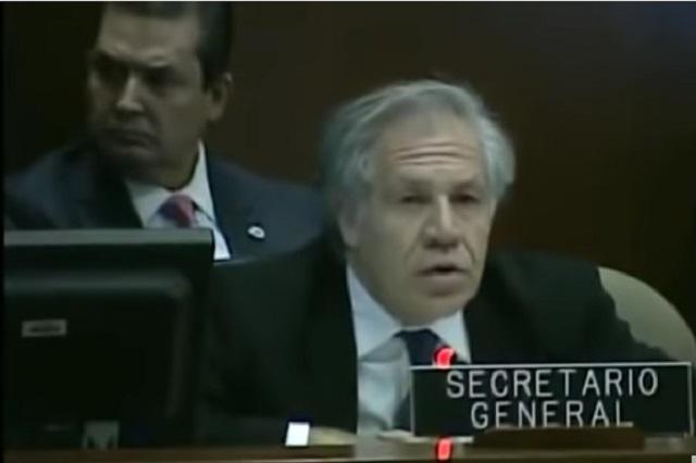 Golpe de Estado en Bolivia, porque Evo se robó la elección: OEA