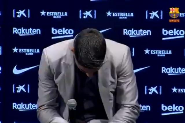 Entre lágrimas: así fue la despedida de Luis Suárez del Barcelona