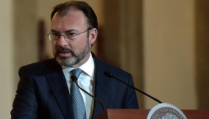 México no pagará por el muro fronterizo: Videgaray