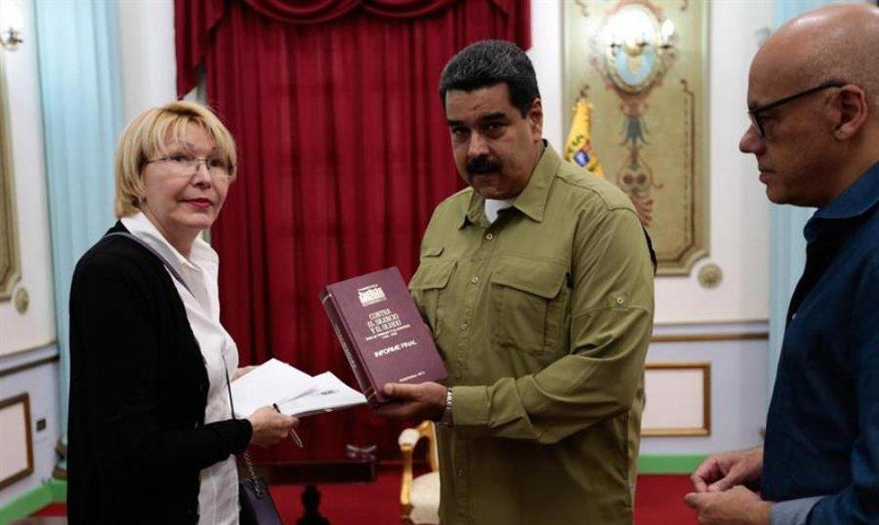 Cabello denuncia red de extorsión que operaba desde el Ministerio Público
