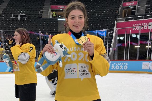 Luisa Wilson otorga a México el primer oro de su historia en Juegos Invernales