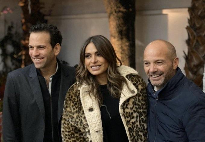 Luis García comparte foto con Galilea Montijo y Loret de Mola sin Martinoli