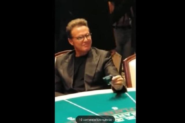 Luis Miguel apostó en Las Vegas y ¿perdió? Mira su reacción