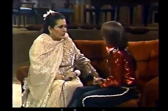 Mira el piropo de Luis Miguel a Lola Beltran cuando tenía 12 años