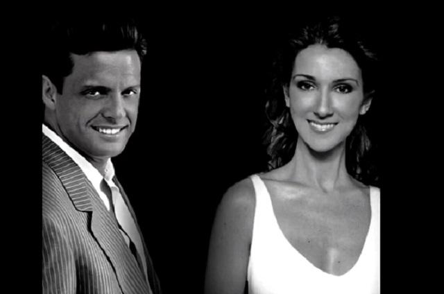 Luis Miguel presume dueto con Celine Dion