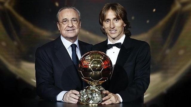 Luka Modric gana el Balón de Oro a Cristiano y Messi