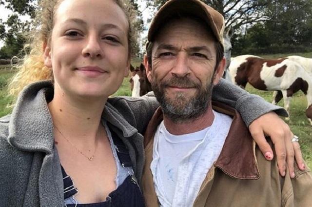 Hija de Luke Perry comparte carta tras la muerte del actor