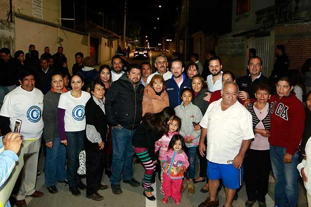 Banck encabeza jornada integral de trabajo en Loma Linda