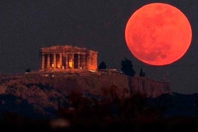 10 cosas que debes saber del eclipse de luna o Luna de Sangre