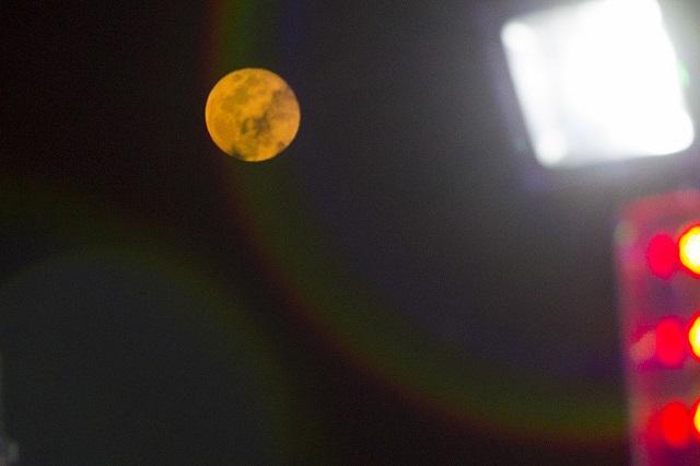 Así se ve la luna rosa de este 2020 en Italia y otros países