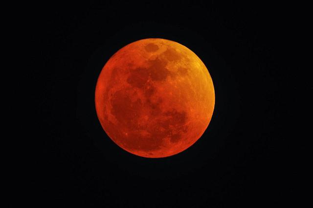 Aquí datos de la superluna, Luna azul de sangre y eclipse de mañana