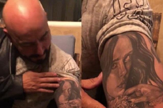 Lupillo Rivera revela el motivo por el que se tatuó el rostro de Belinda
