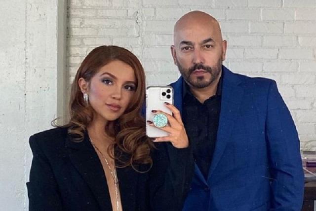 Lupillo Rivera se compromete con su joven novia Giselle Soto