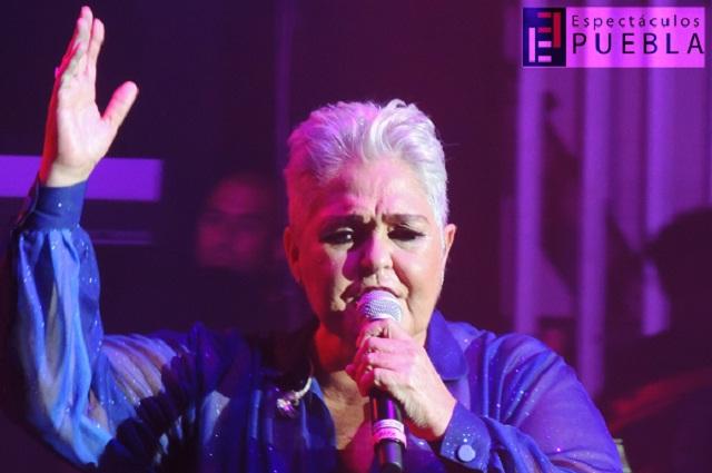 Exitosa presentación de Lupita D'Alessio en Puebla