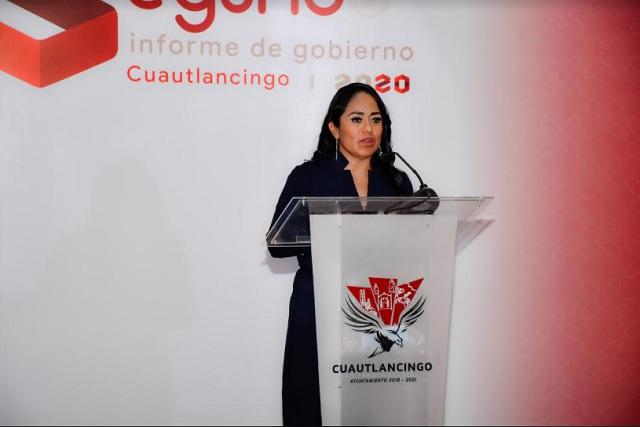 Anuncia Lupita Daniel más obras y acciones para Cuautlancingo