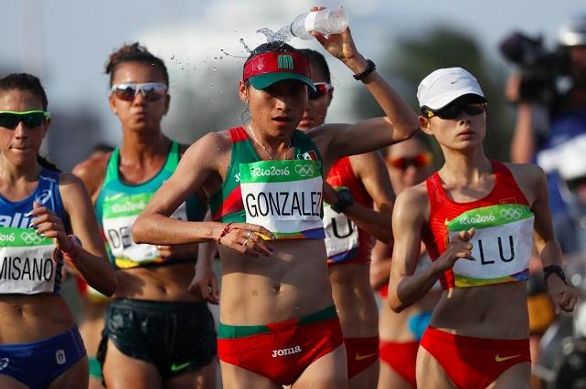 Di todo, no dejé nada, expresa Lupita González tras ganar plata en caminata