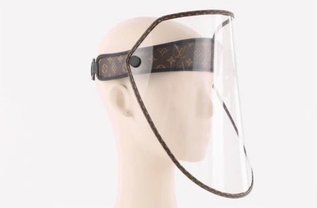 Louis Vuitton saca mascarilla contra covid: costará 21 mil pesos
