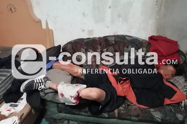 Machetean a plomero tras riña en San Felipe Hueyotlipan