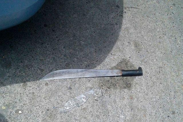 Atacan a dos con machete en Atlixco
