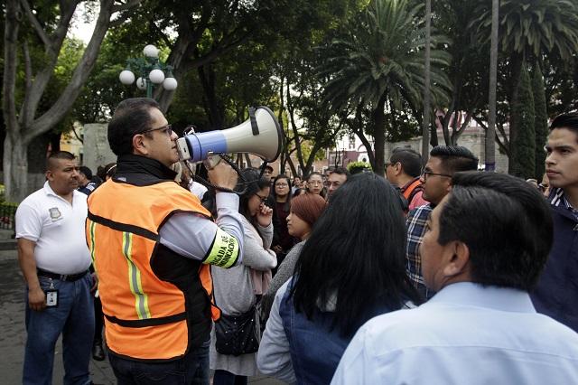 Pese a sismos, falta aún en Puebla mejor protección civil