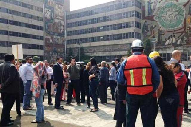 Protección Civil realiza simulacro de sismo en todo el país