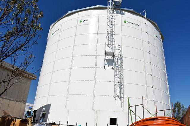Con macro tanques, mayor abasto de agua para 439 mil habitantes: AP