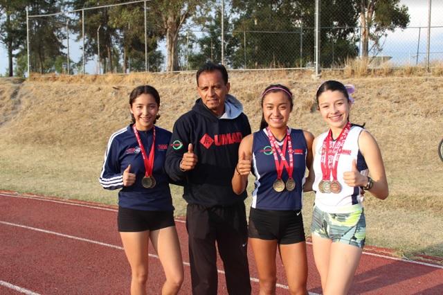 Maderistas, rivales a vencer luego de récord en relevos 4x400 metros