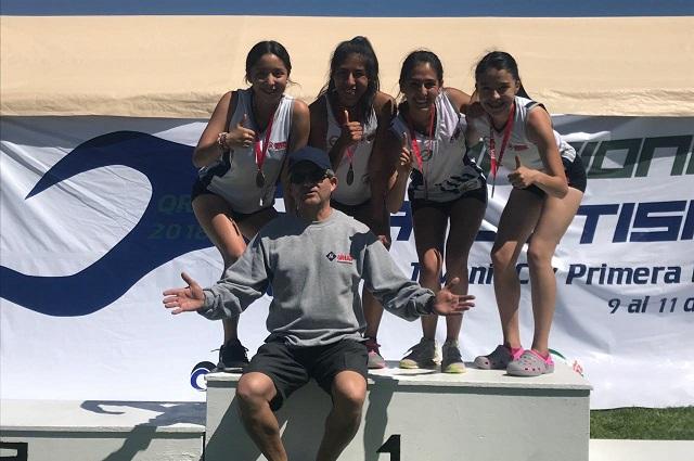 UMAD se confirma como uno de los mejores equipos de atletismo del país