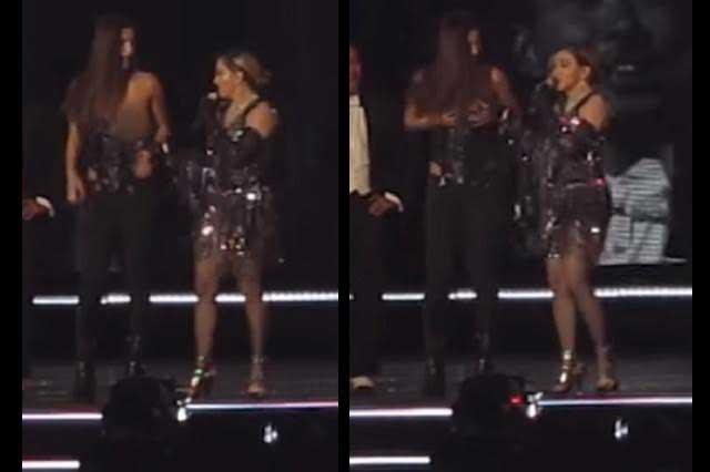 Joven desvestida por Madonna no se siente humillada