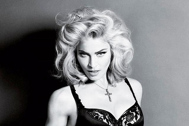 Madonna y la polémica foto del cuerpo semidesnudo