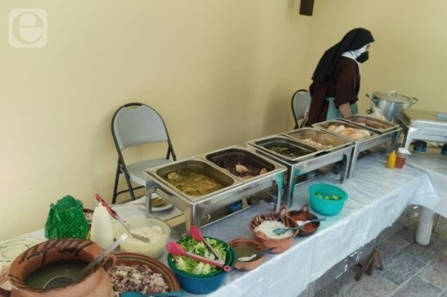 Madres clarisas retoman venta de alimentos en Atlixco