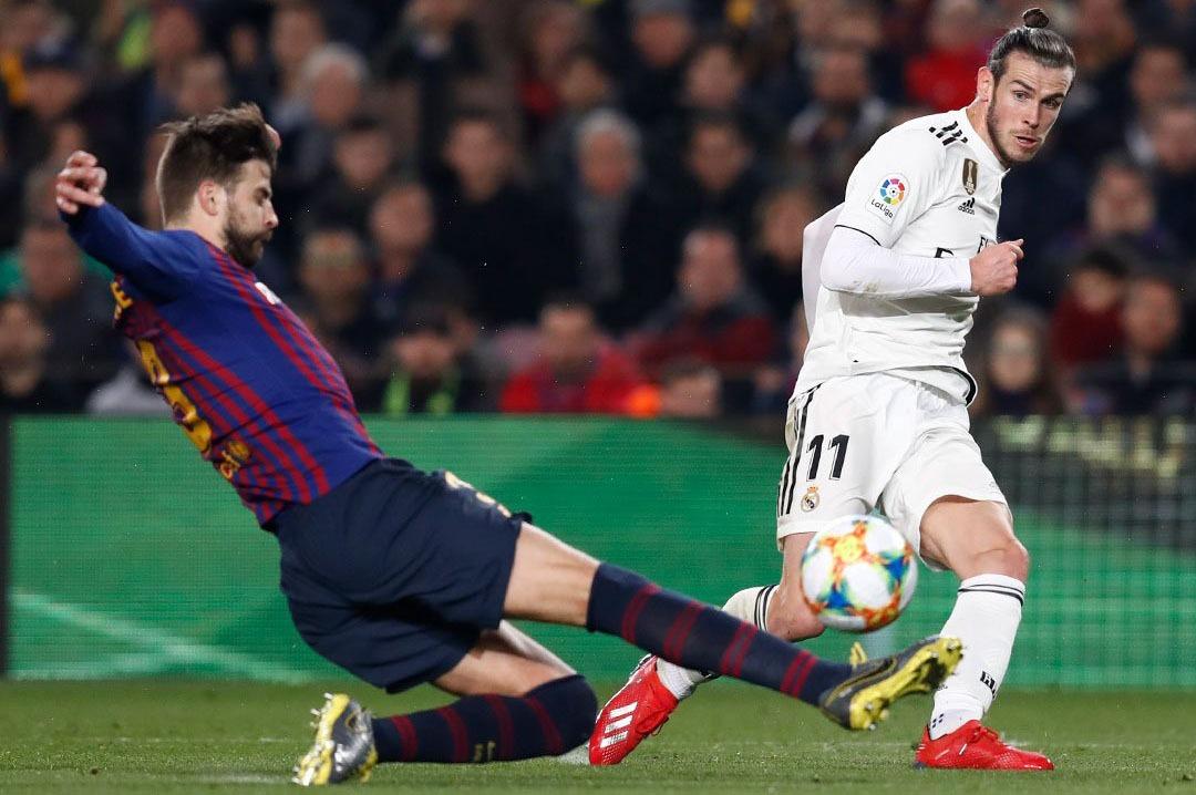 Empatan Barcelona y Madrid en semifinales de la Copa del Rey