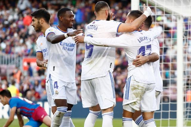 ¡El Clásico es merengue! R. Madrid aplasta a Barcelona por 1-2