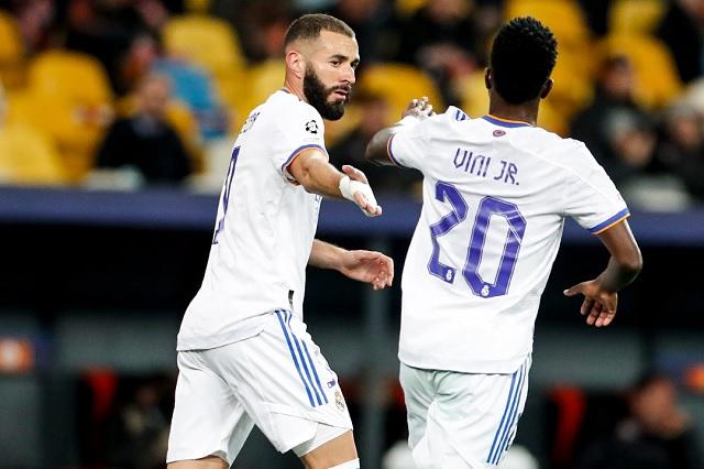 Champions: Real Madrid se impone en casa con un 5-0 sobre Shakhtar